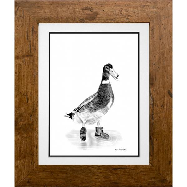 Percy the Duck - Ipswich Artist