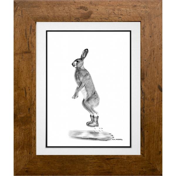 Henry the Hare - Ipswich Artist