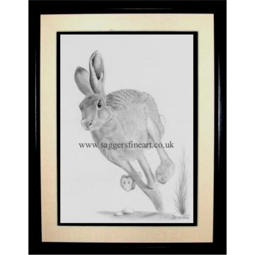 The Running Hare by Ipswich Artist Rik Saggers