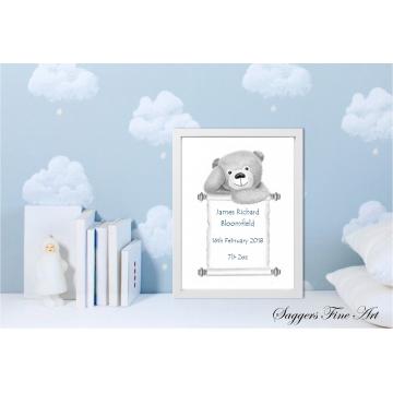 Teddy bear - Baby details