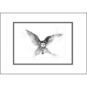 Phantom Owl general greeting card - Code 055