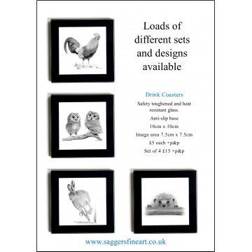 Countryside Collection Coaster Set