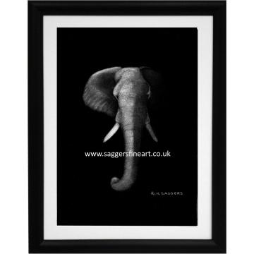 Night of the Elephant Print